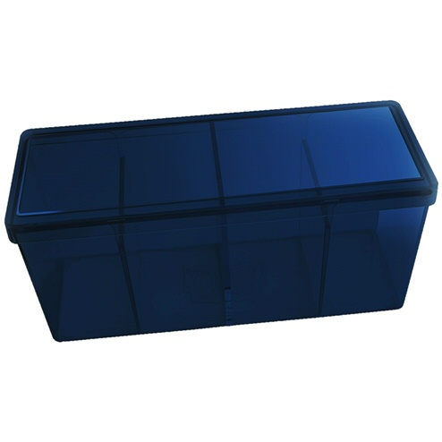 BOX 4 SPAZI - BLUE (PER CONTENERE 320+ CARTE CON RELATIVE SLEEVES)