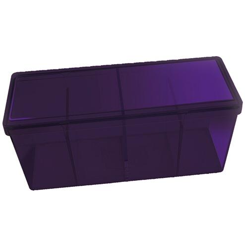 BOX 4 SPAZI - PURPLE (PER CONTENERE 320+ CARTE CON RELATIVE SLEEVES)