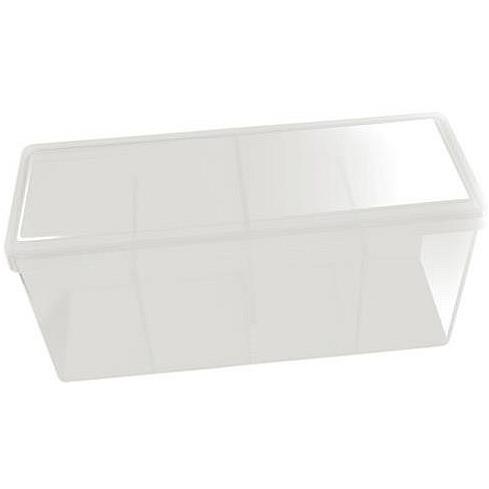 BOX 4 SPAZI - WHITE (PER CONTENERE 320+ CARTE CON RELATIVE SLEEVES)