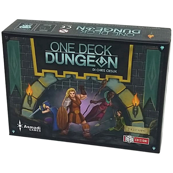 ONE DECK DUNGEON - EDIZIONE ITALIANA
