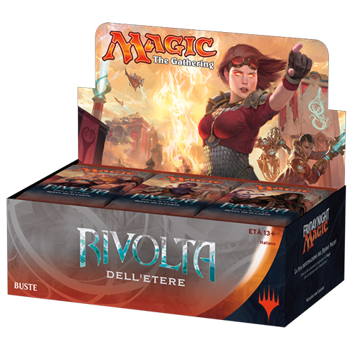 AETHER REVOLT - RIVOLTA DELL'ETERE - BOX 36 BUSTE ITALIANO