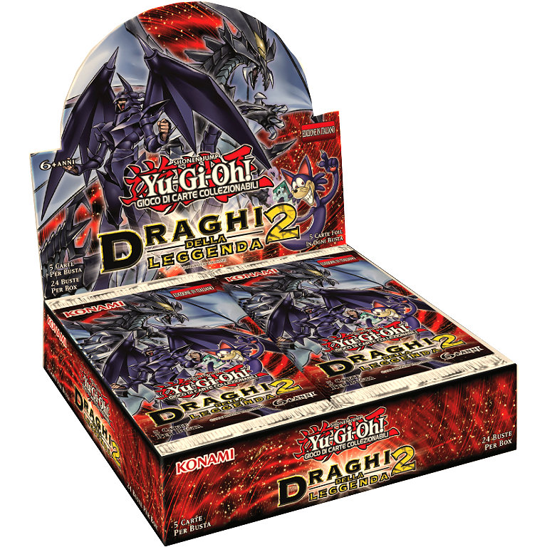 DRAGHI DELLA LEGGENDA 2 - BOX 24 BUSTE ITA