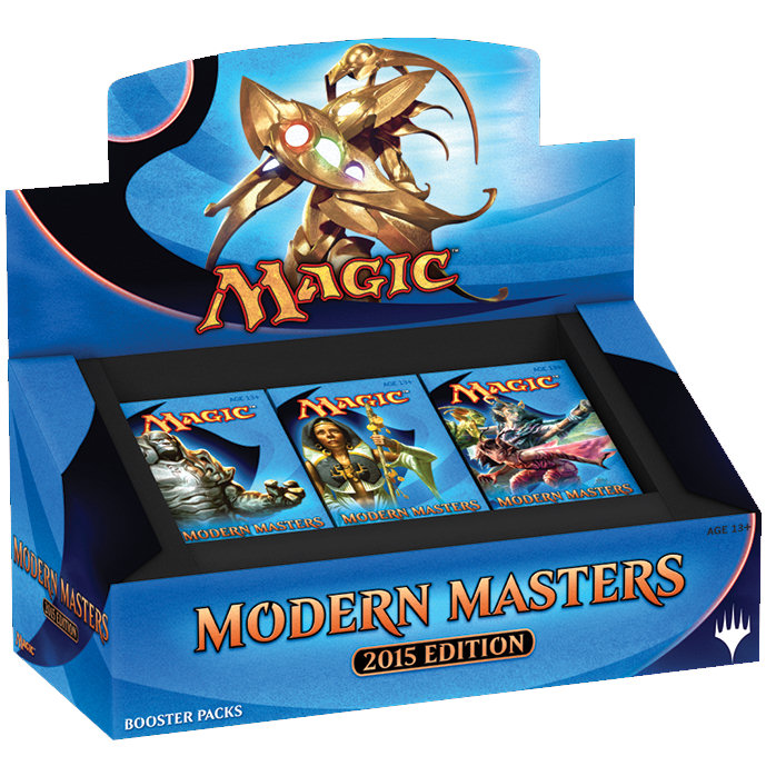 MODERN MASTERS 2015 EDITION - BOX 24 BUSTE INGLESE