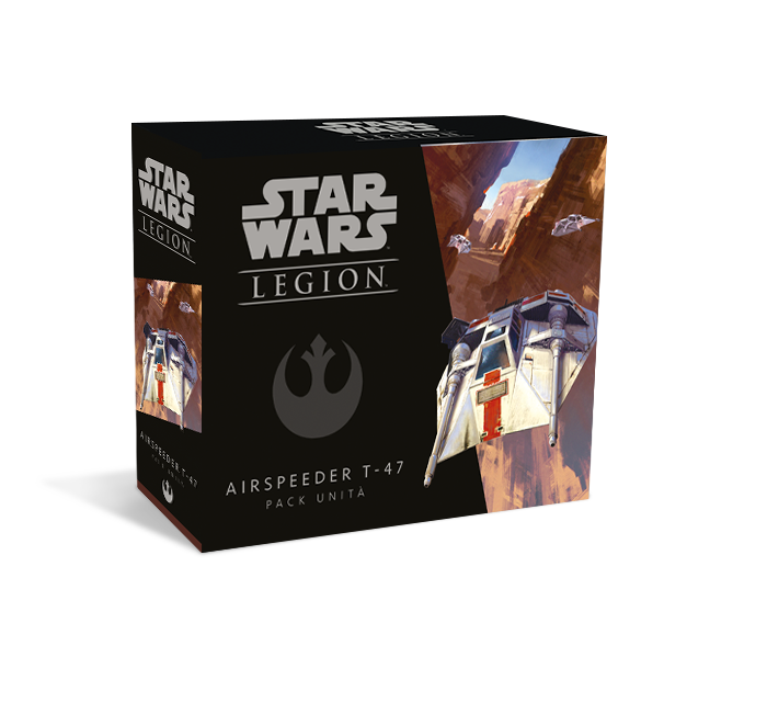 STAR WARS: LEGION - AIRSPEEDER T-47 PACK UNITA'