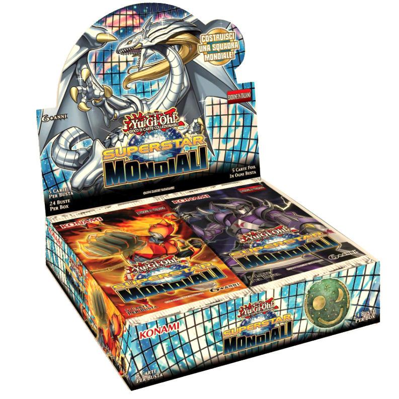 SUPERSTAR MONDIALI - BOX 24 BUSTE ITA