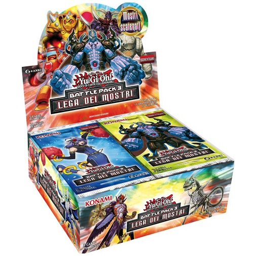 BATTLE PACK 3 - LA LEGA DEI MOSTRI - BOX 36 BUSTE