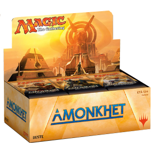 AMONKHET - BOX 36 BUSTE INGLESE
