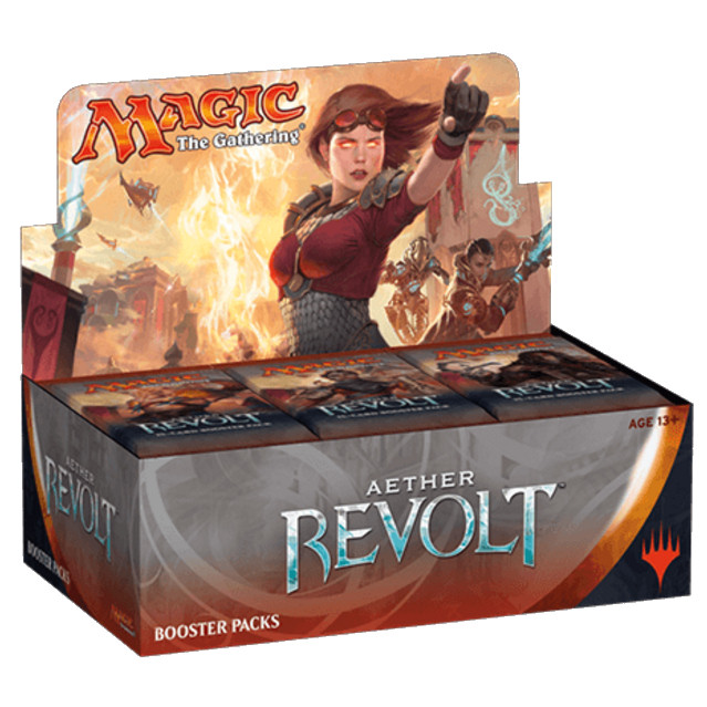 AETHER REVOLT - RIVOLTA DELL'ETERE - BOX 36 BUSTE INGLESE