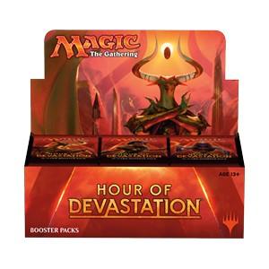 HOUR OF DEVASTATION - BOX 36 BUSTE INGLESE