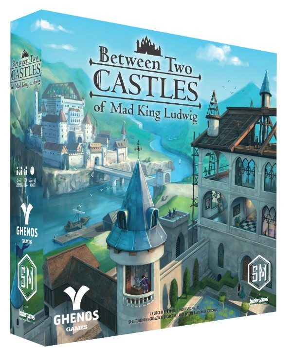 BETWEEN TWO CASTLES OF MAD KING LUDWIG - ITALIANO