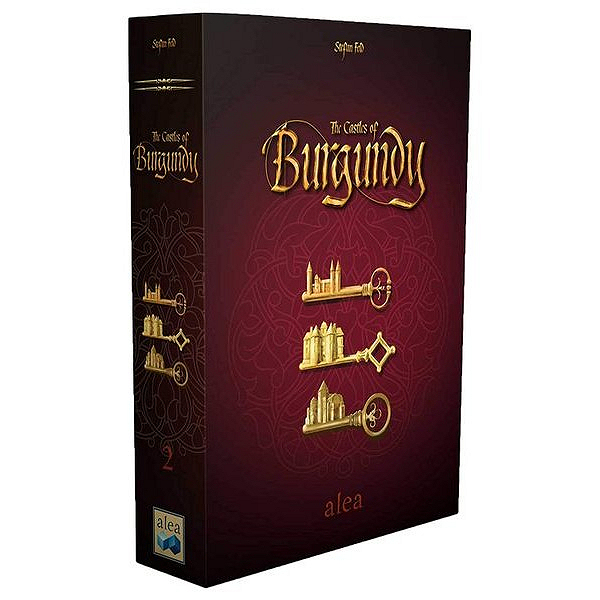 THE CASTLES OF BURGUNDY - NUOVA EDIZIONE ALEA