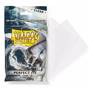 DRAGON SHIELD PERFECT FIT CLEAR 100 (PERFECT SIZE)