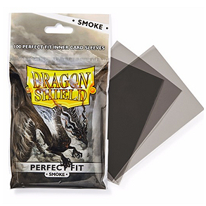 DRAGON SHIELD PERFECT FIT SMOKE 100 (PERFECT SIZE)