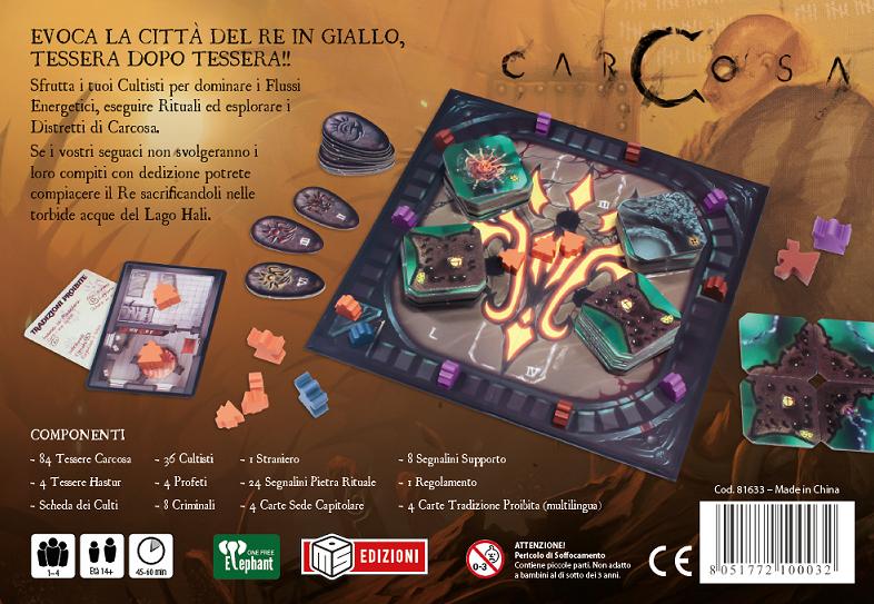 CARCOSA - EDIZIONE ITALIANA Foto 1