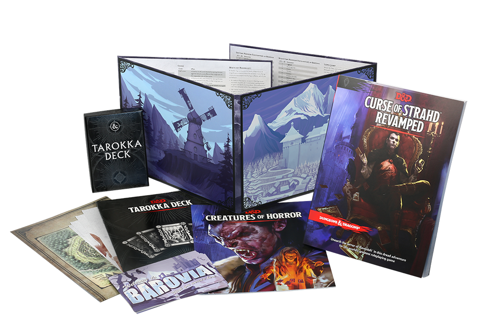 DUNGEONS & DRAGONS 5A EDIZIONE - CURSE OF STRAHD REVAMPED Foto 1