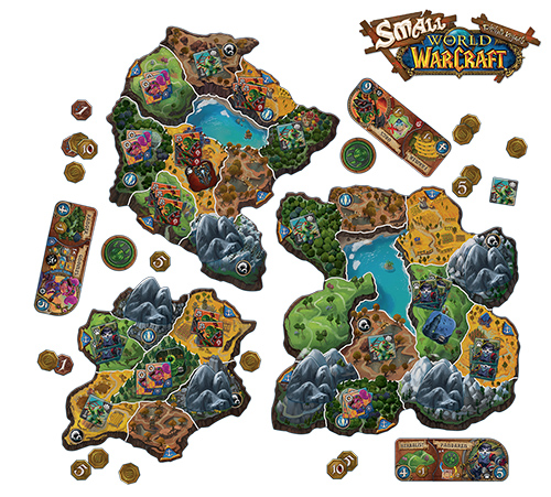 SMALL WORLD OF WARCRAFT - ITALIANO Foto 1