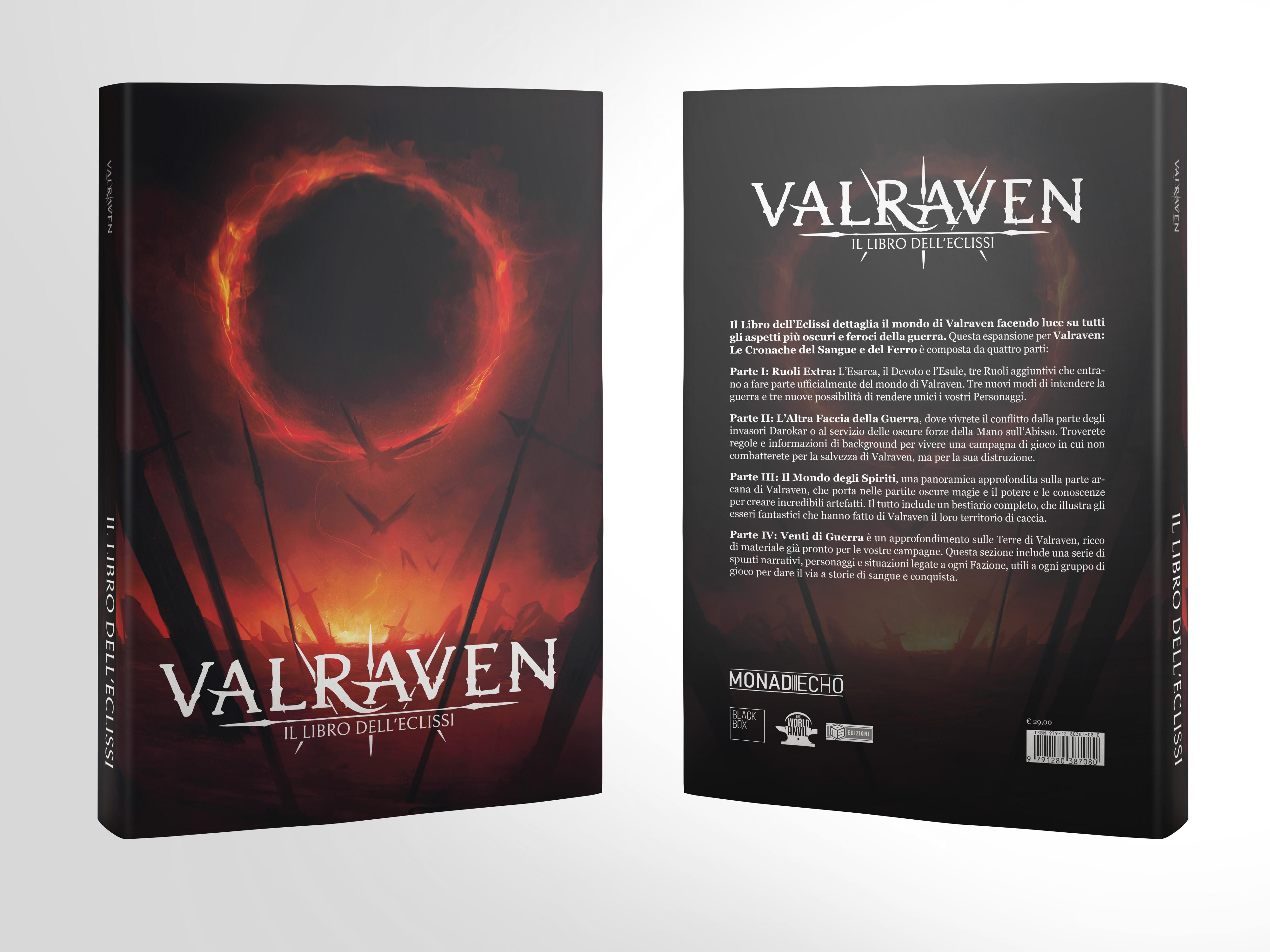 VALRAVEN: LE CRONACHE DEL SANGUE E DEL FERRO - IL LIBRO DELL' ECLISSI (SOFT COVER) Foto 1