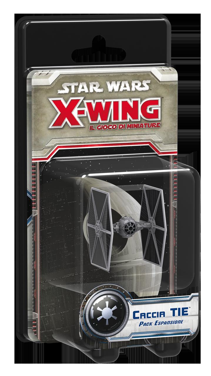 STAR WARS X-WING: IL GIOCO DI MINIATURE - CACCIA TIE