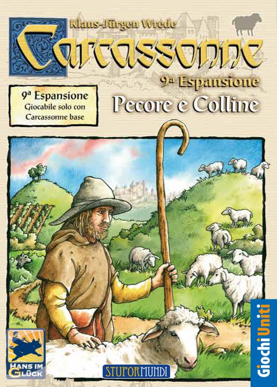 CARCASSONNE: PECORE E COLLINE