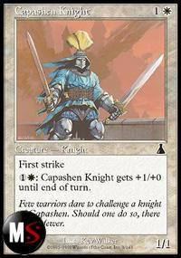 CAVALIERE CAPASH