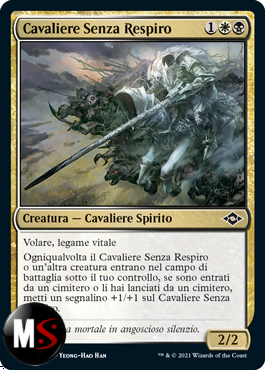 CAVALIERE SENZA RESPIRO