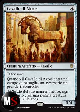 CAVALLO DI AKROS