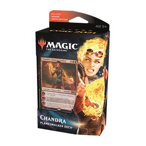 M21 SET BASE - PLANESWALKER DECK CHANDRA