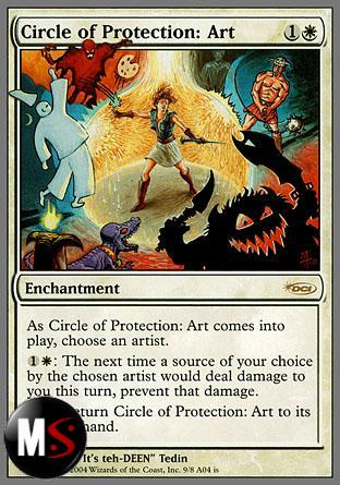CIRCLE OF PROTECTION: ART (ARENA PROMO)