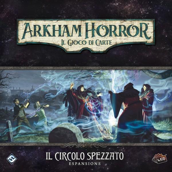 ARKHAM HORROR - IL GIOCO DI CARTE - LCG - IL CIRCOLO SPEZZATO - ESPANSIONE