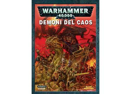 CODEX DEMONI DEL CAOS - WARHAMMER 40,000