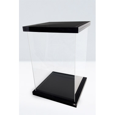 SUPREME DISPLAY CASE FOR 1/6 ACTION FIGURES BLACK MAGNETIC EDITION
