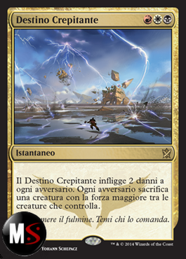 DESTINO CREPITANTE - PRERELEASE KTK FOIL ITA