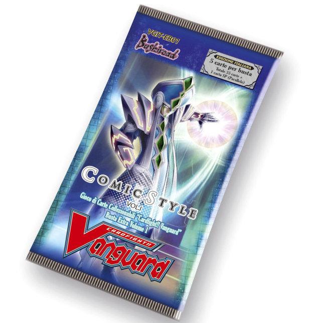 VGIT-EB01 VANGUARD BUSTE EXTRA 1 - COMIC STYLE - BOX 15 PZ