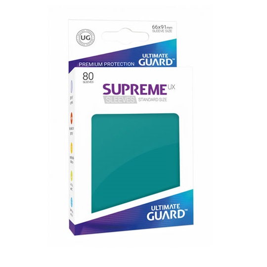 UGD SUPREME UX SLEEVES STANDARD SIZE - PETROL BLUE 80