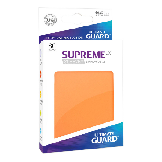 UGD SUPREME UX SLEEVES STANDARD SIZE - ORANGE 80