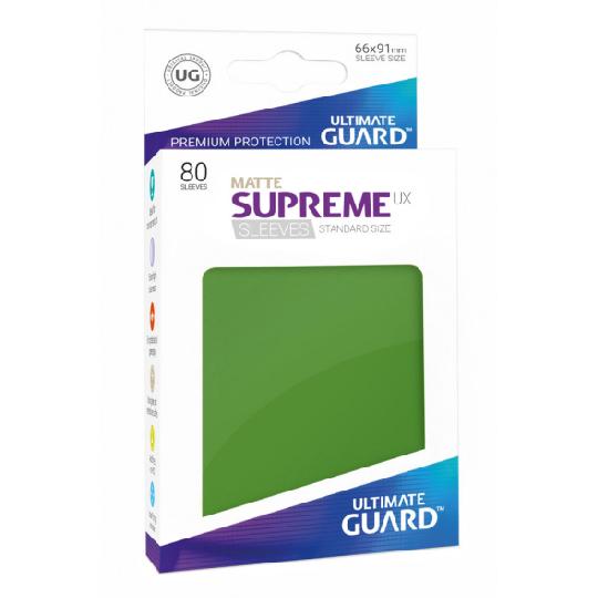 UGD SUPREME UX SLEEVES STANDARD SIZE - MATTE GREEN 80