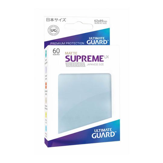 UGD SUPREME UX SLEEVES JAPANESE SIZE - MATTE TRANSPARENT 60