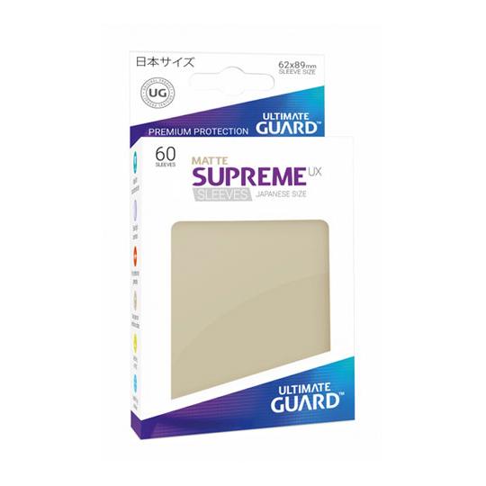 UGD SUPREME UX SLEEVES JAPANESE SIZE - MATTE SAND 60