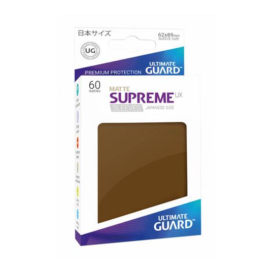 UGD SUPREME UX SLEEVES JAPANESE SIZE - MATTE BROWN 60