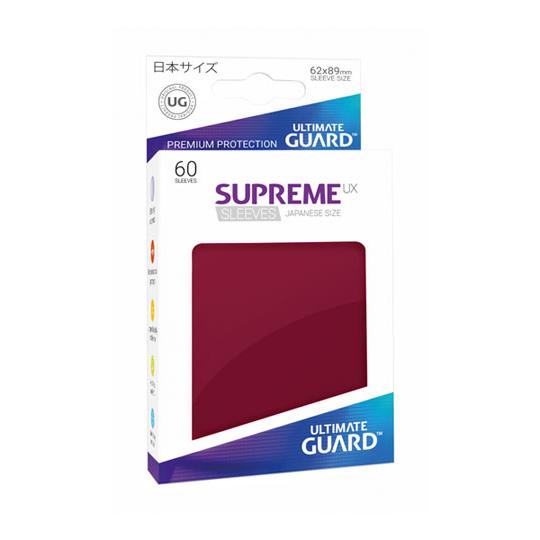 UGD SUPREME UX SLEEVES JAPANESE SIZE - BURGUNDY 60