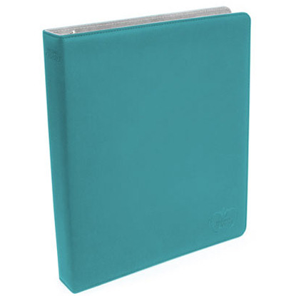 SUPREME COLLECTOR'S ALBUM 3 ANELLI (BINDER) - XENOSKIN - PETROL BLUE - SLIM