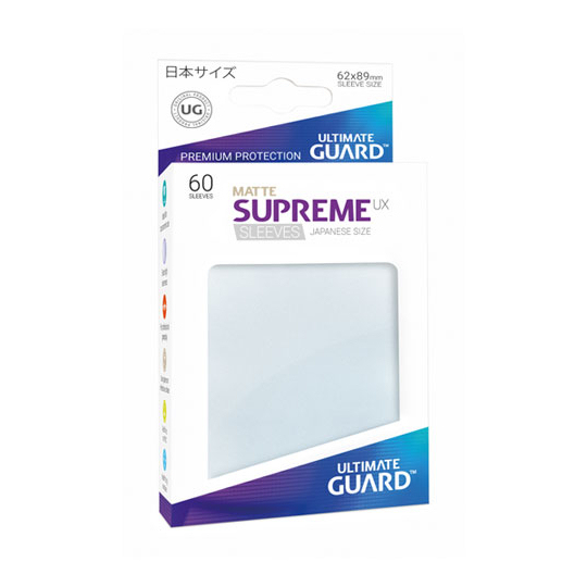 UGD SUPREME UX SLEEVES JAPANESE SIZE - MATTE FROSTED 60