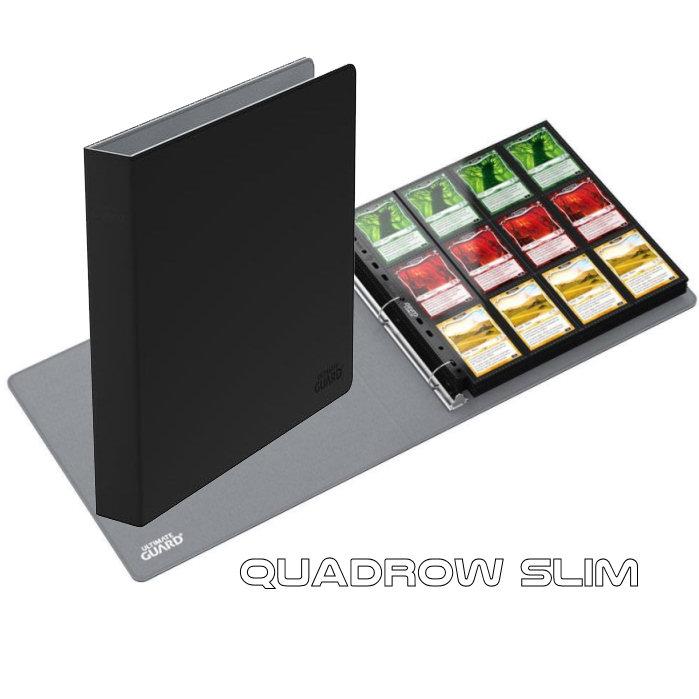 UGD SUPREME COLLECTOR'S ALBUM 3 ANELLI QUADROW - SLIM - XENOSKIN BLACK