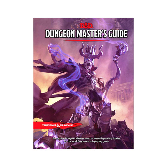 D&D TRPG DUNGEON MASTER'S GUIDE (DUNGEONS & DRAGONS)