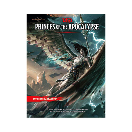 D&D TRPG PRINCES OF THE APOCALYPSE - ADVENTURE (DUNGEONS & DRAGONS)