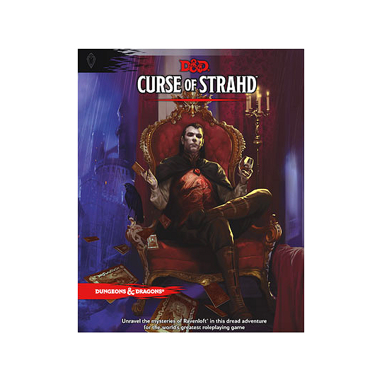 D&D TRPG ADVENTURE: CURSE OF STRAHD (DUNGEONS & DRAGONS)