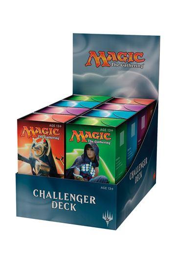 CHALLENGER DECKS - BOX 8 PZ - INGLESE