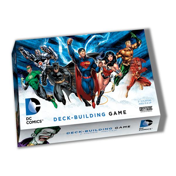 DC COMICS DECK-BUILDING GAME - JUSTICE LEAGUE - ITA