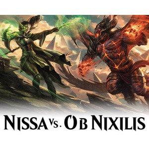 DUEL DECKS: NISSA VS OB NIXILIS - BOX 6 PZ - INGLESE