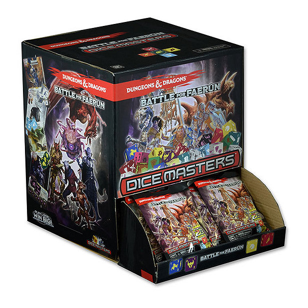DUNGEONS & DRAGONS DICE MASTERS - GRAVITY FEED DISPLAY 90 PZ